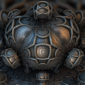 MB3D - 695 by Siniša Dalenjak - Illustration Abstract & Patterns ( mandelbulb, 3d, fractal )