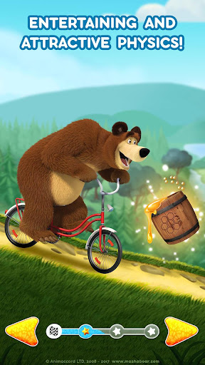 Masha and the Bear: Climb Racing and Car Games 0.0.3 screenshots 7