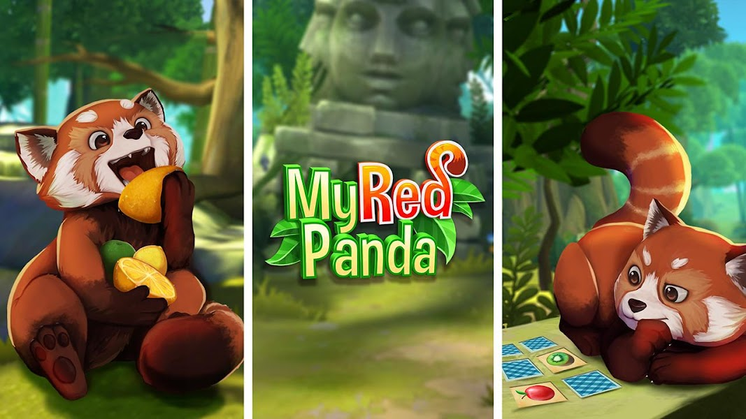 Pet World: My Red Panda - Your lovely simulation