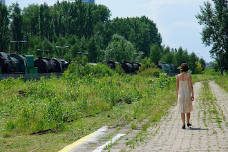 """Photo: sesja z próby projektu """"Miasto Syren / Nocny Pociąg"""" w dniu 10.07.2012; zdjęcia PAGAL FOTO"""