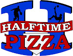 Logo for Halftime Pizza - Bandera