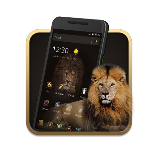 Gold Brown Lion King Theme Android APK Download Free By Fantastic Design