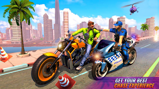 US Police Bike Gangster Chase Crime Shooting Games 1.0.7 screenshots 13