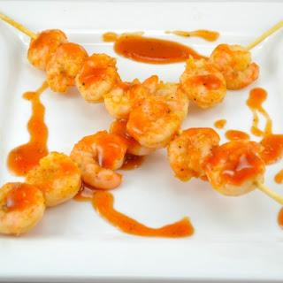Honey Barbeque Shrimp (With Tofu Option).