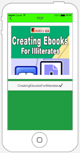 Creating Ebooks For Illiterates eBook ✔️ for PC-Windows 7,8,10 and Mac apk screenshot 2