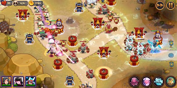 Realm Defense: Epic Tower Defense MOD Apk 2.4.1 (Unlimited Money) 7