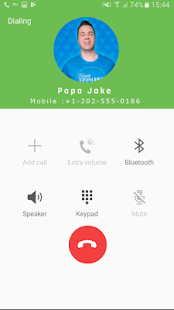 Fake Call From Papa Jake - náhled