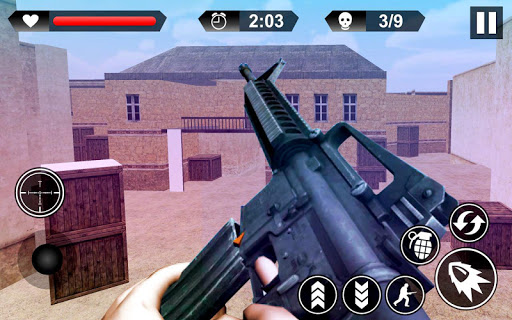 Frontline Sharpshooter Commando 3d 1.0 APK MOD screenshots 2