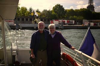 Photo: Ron & Donna in Paris on the Seine