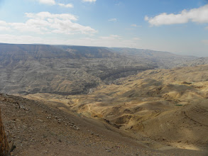 Photo: Wadi Mujib, the grand canyon of Jordan