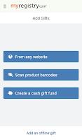 Screenshot of MyRegistry
