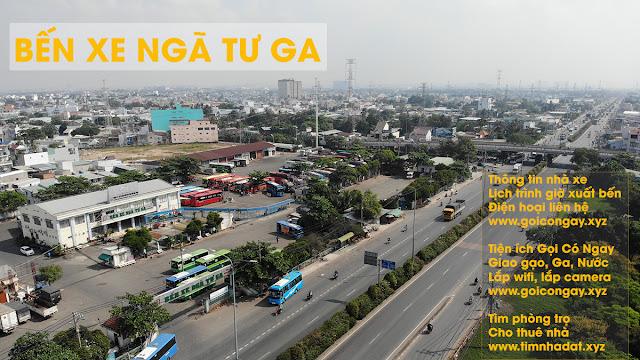 Bến xe Vĩnh Long Đi Sài Gòn