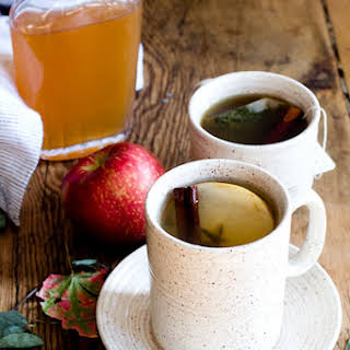 Hot Apple Cinnamon Shrub Tea.