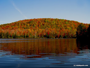 Photo: Bright Foliage at Kettle Pond State Park by Matt Parsons.