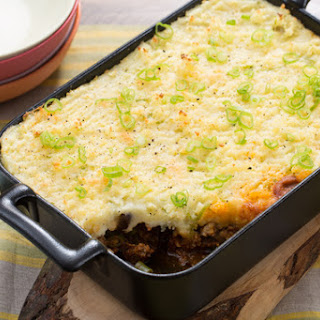 Shepherd's Pie with Green Beans & Mushrooms