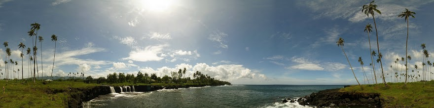 Photo: Samoa, Savaii Island, southern coast