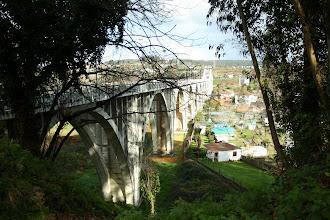 Photo: Ponte do Pedrido e lugar da Pasaxe do Pedrido, parroquia de Moruxo (2012)