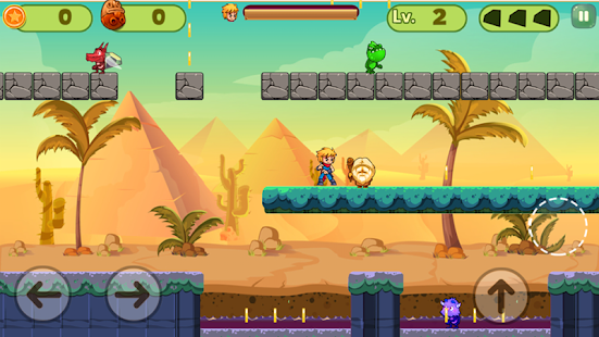 Power Zak : super pirate Screenshot