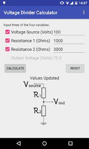 Easy Voltage Divider Calculate screenshot 1