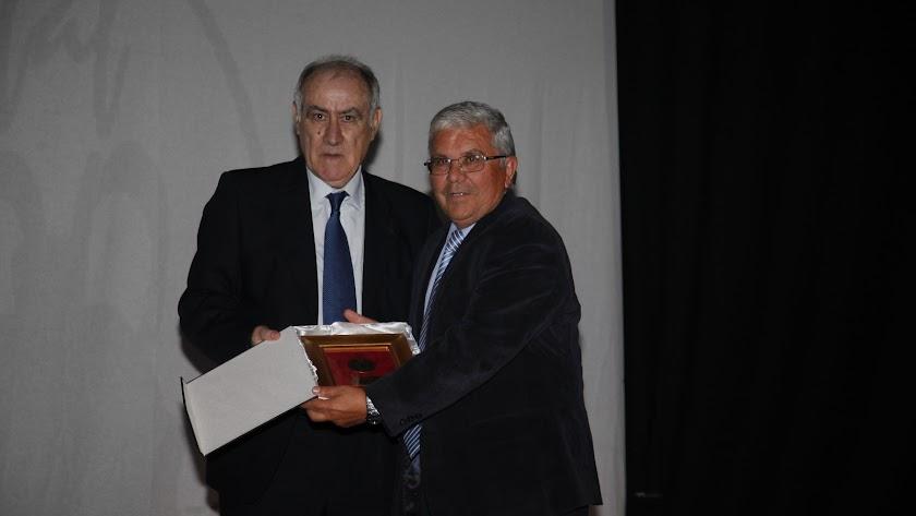 Martín Doblado con Pepe Alías.