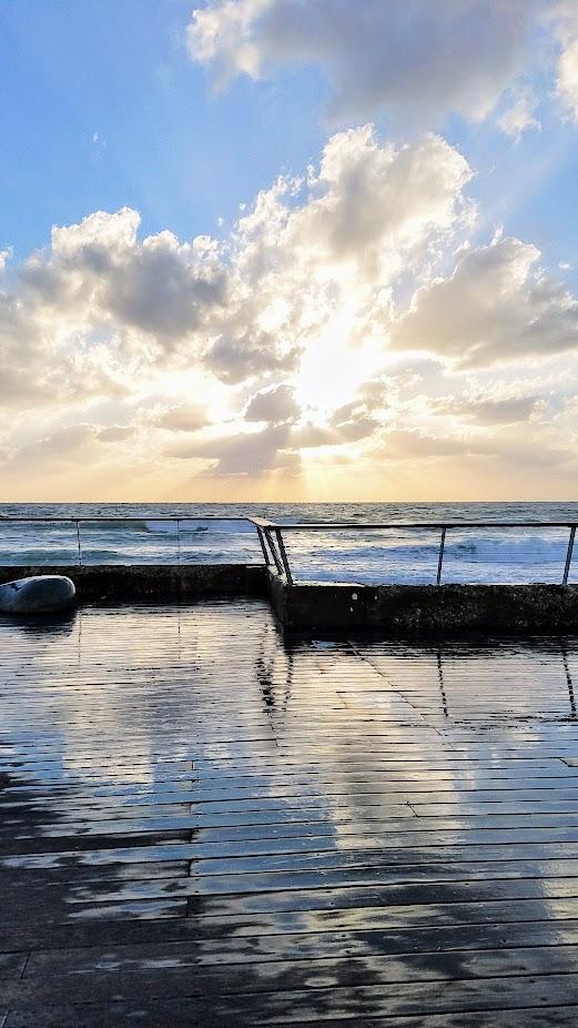 Travel Tuesday, walking in Jaffa and Tel Aviv in Israel visit: walking along the Promenade
