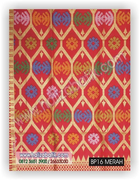 Baju Baju Batik, Batik Modern, Baju Modis Online, BP16 MERAH