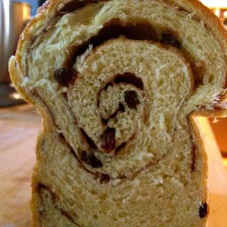 Cinnamon Raisin Swirl Butter Bread ~ Tamatha Mavraides