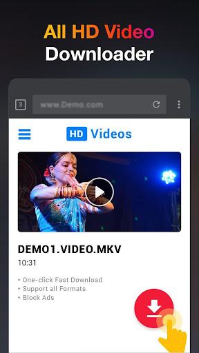HD Video Downloader App - 2019 1.0.5 Screenshots 1