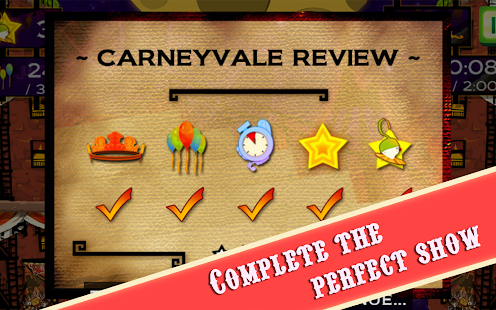CarneyVale: Showtime- screenshot thumbnail