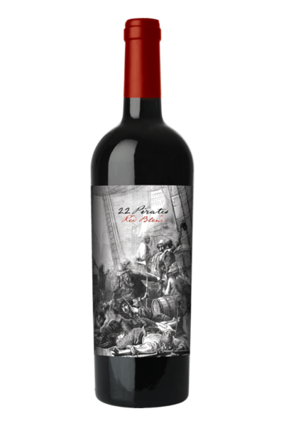 Logo for 22 Pirates Red Blend