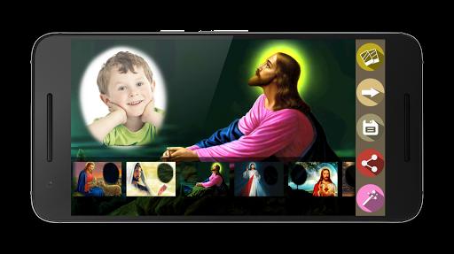 無料摄影Appの神イエスフォトフレーム|HotApp4Game