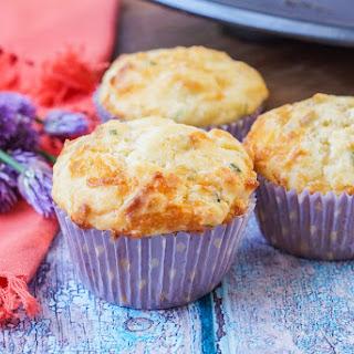 Cheddar Chive Muffins.