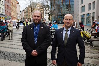 Photo: Jiří Rutkovský a Jess Møller Knudsen  Autor: Jiří Blecha