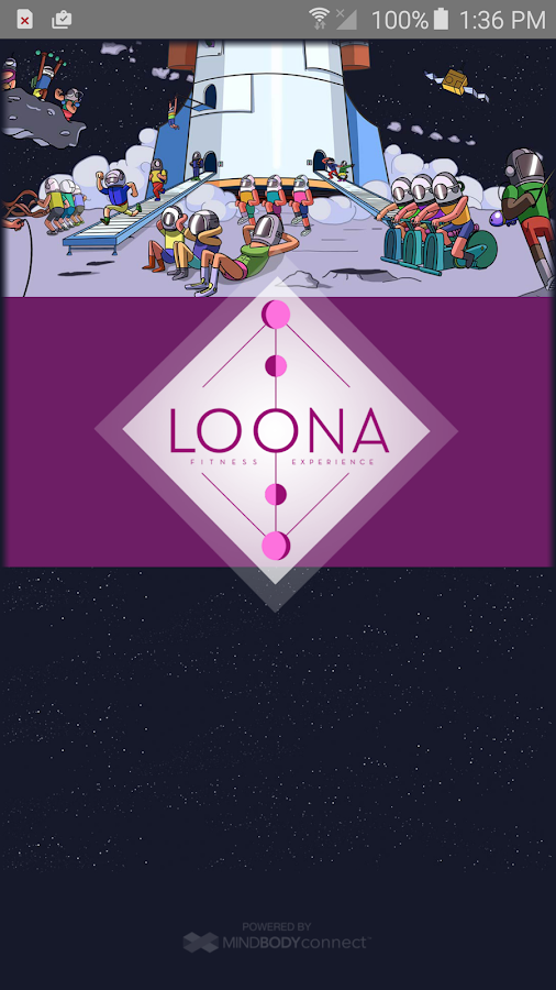 LOONA Fitness Experience- screenshot