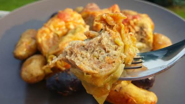 A Wonderful Comfort Food Dish With A Savory Meat Filling. Great For When You Have A Crowd To Feed And Want Leftovers For The Next Day. This Is One Of My Favorite Recipes To Make For My Family!