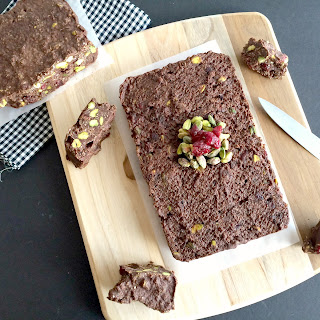 Quinoa Pistachio Cranberry Fudge