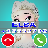 Fake Elsa Call Phone Prank