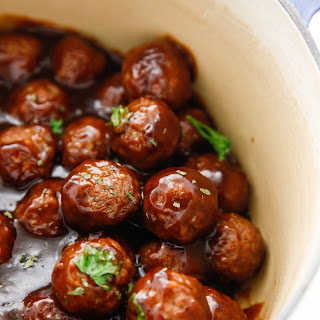Saucy Beer BBQ Meatballs