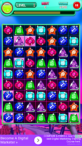 Code Triche Jewels Match Master APK MOD screenshots 4