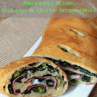 Broccoli Rabe Salami Stromboli
