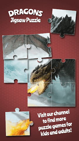 android Dragons Jigsaw Puzzle Screenshot 5