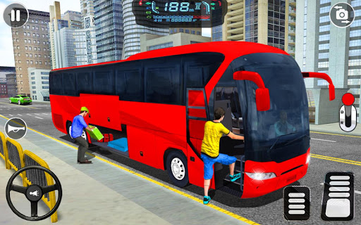 City Coach Bus Driving Simulator: Driving Games 3D android2mod screenshots 1