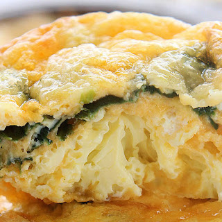 Spinach, Egg, and Cheese Breakfast Bites