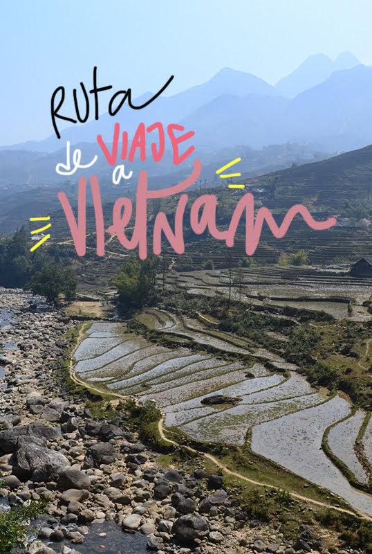itinerario viaje a Vietnam