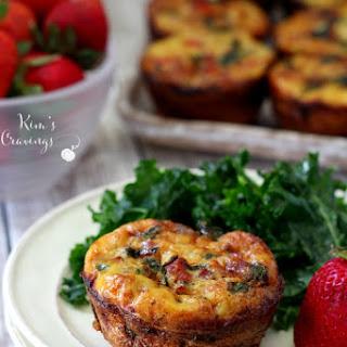 Spinach Prosciutto Quiche Cups Recipe