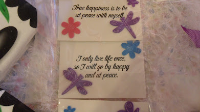 Photo: Inspirational Message Notes for your Guests at your Spa Party by http://www.BestPartyPlanner.net