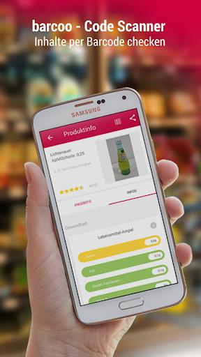 barcoo - QR Scanner. Inhalte per Barcode checken 9.7.1 gameplay | AndroidFC 1