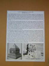 Photo: Limyra, Cenotaph of Gaius Ceasar according to a drawing at the Museum of Antalya .......... Limyra, Cenotaaf van Gaius Ceasar volgens een tekening uit het Museum van Antalya.
