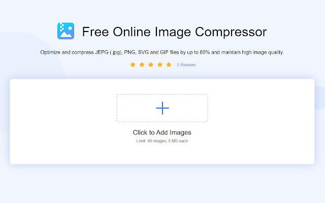 Online Image Compressor for JPG/PNG/SVG/GIF