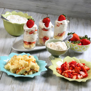 Mini Cheesecake Trifles for an easy Mother's Day Dessert
